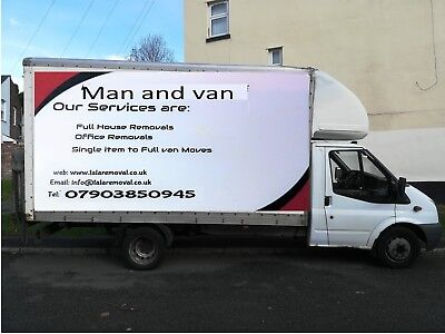 Man and Van Services Manchester .