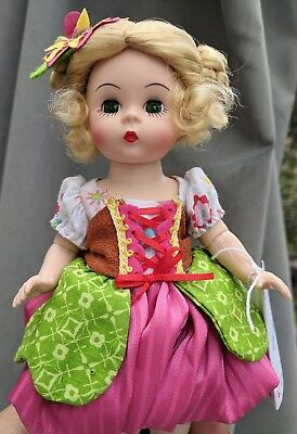 "Madame Alexander Little Thumbkins 61755 with Box Wendy 8"" Doll Blond"