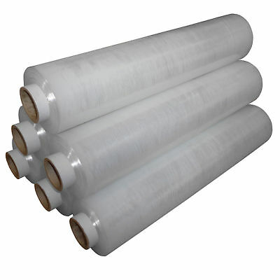 1x LARGE QUALITY CLEAR PALLET STRETCH WRAP 500mm 250m Stretch Cling Film