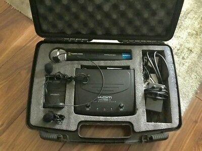 KAM KWM 1932 V2 UHF Wireless System *VERY GOOD CONDITION* *RRP £125*