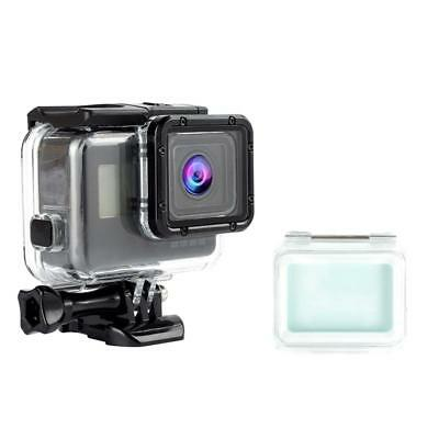 Underwater Waterproof Case with Touch Back Cover for GoPro Hero 5 6 7 Black PC