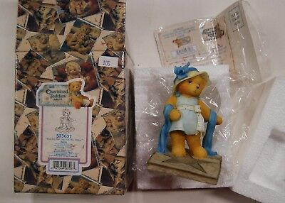 """Lot 11-130 * Cherished Teddies 553637 """"You are The Star of The Show - Bette"""""""