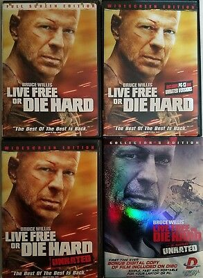 Die Hard 4 Live Free or Die Hard (DVD) Combine Shipping and SAVE MONEY!!!