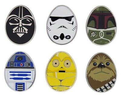 Disney Parks Star Wars Eggs Booster Pin Set Trading Pins Pack