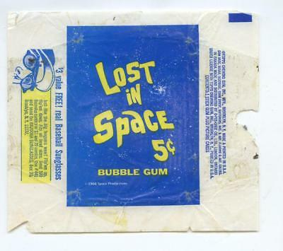1966 Topps Lost In Space 5 Cent Bubble Gum Wrapper From Fleer Archive