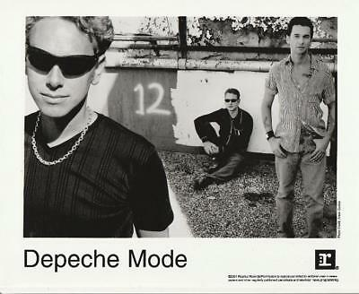 Depeche Mode EXCITER Official US 2001 Promotional b/w 8x10 Press Photo #2