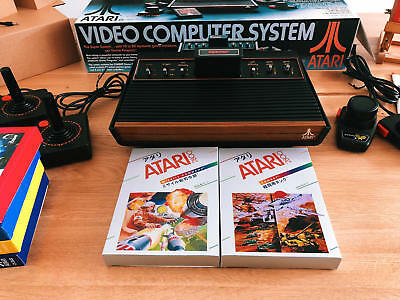 Atari 2600 VCS and Brand New Console Packaging. Mint Condition!