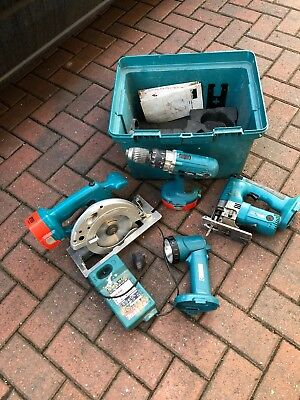 Makita 18v circular saw Jig Saw Drill light