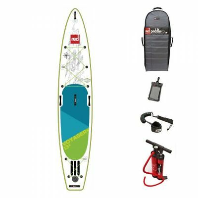 RED Voyager 13,2 SUP Komplett Set Stand Up Paddle Board aufblasbar red SUP 18/19