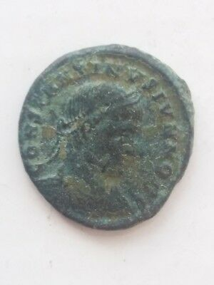 Roman bronze coin. Constantine II as Caesar 316-337).