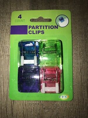 Wall Cubicle Clips Fabric Panels Office Decor Decorations Color Home 20 Qty Box