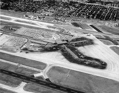 "Dallas Love Field Terminal c.1961 ((8.5""x11"")) Print"