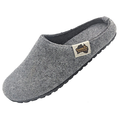 Gumbies - Outback Slipper Grey & Charcoal