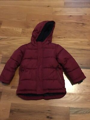 Boys Old Navy Puffer Winter Jacket  5 5T
