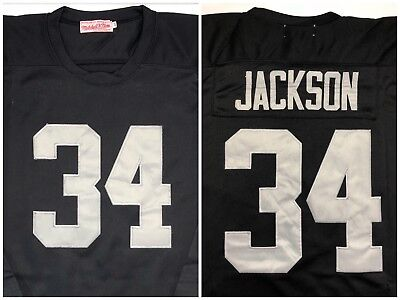 83074a1b3a9 Bo Jackson Los Angeles Raiders NFL Football Mitchell Ness Throwback Jersey  NWOT