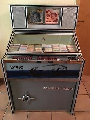 Jukebox, Musikbox Wurlitzer Lyric
