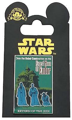 Star Wars Poster - Forest Moon of Endor - Return of the Jedi (Episode VI) Pin