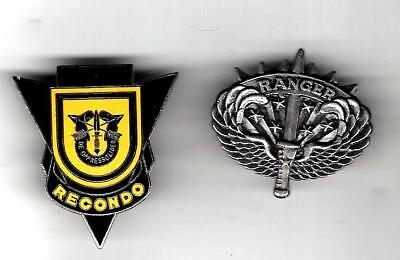 VN War/post 1st Special Forces Group Airborne Recondo badge patch -like,Ranger