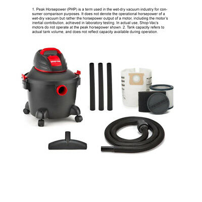 Shop-Vac 5922611 6-Gallon 3.5-Peak-HP Shop Vacuum