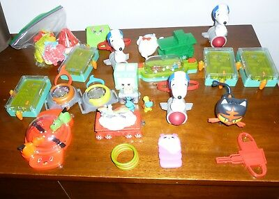 Lot of Mixed  Mc Donald's Happy Meal Toys