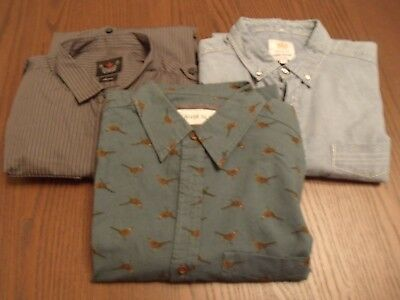 Job Lot of River Island long sleeved shirts - size S/M