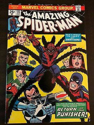Amazing Spider-Man #135 2Nd App Punisher Marvel Comics Nm-