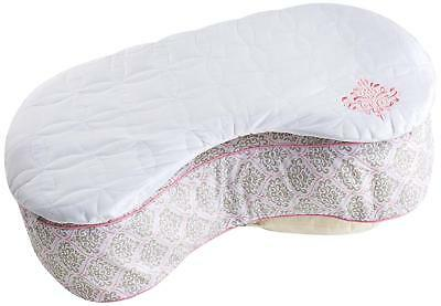BORN FREE Bliss Nursing Pillow Quilted Deluxe 2-PC Slip Cover