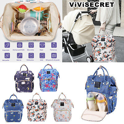 ViViSECRET Mummy Maternity Nappy Diaper Bag Large Capacity Travel Backpack Totes