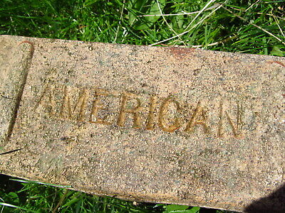 AMERICAN Reclaimed Brick patriotic brick rail car station street paver