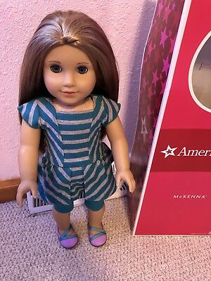 American Girl Doll of the Year McKenna Meet Outfit Shirt ONLY Retired