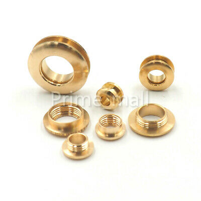 Solid brass eyelets screwback Grommet Eyelet with washer Leather Craft  hardware