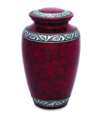 Royal Red Adult Cremation Urn