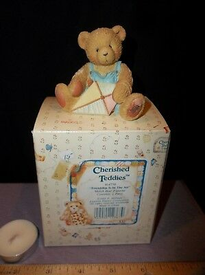 Cherished Teddies Mark for Month of March Bear Figurine 1993 by P. Hillman