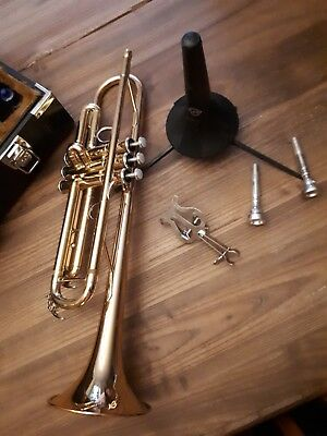 Yamaha Trompete proffesionell Bb Gold- Messing