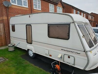Bailey Scorpio Avallon  4 berth Caravan Light Weight with Awning
