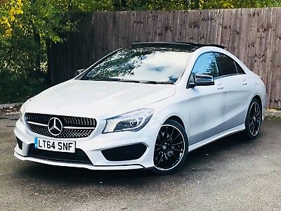 2014 (64) Mercedes Benz CLA A 220d 2.1 AMG Sport 4dr Auto 1 OWNER PANROOF