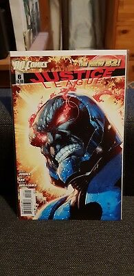 New 52 Justice League Of America  #6 Darkseid Variant Cover! Htf