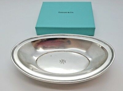 Tiffany & Co Sterling Silver 925 Oval Small Dish Plate Tray Sauce Boat