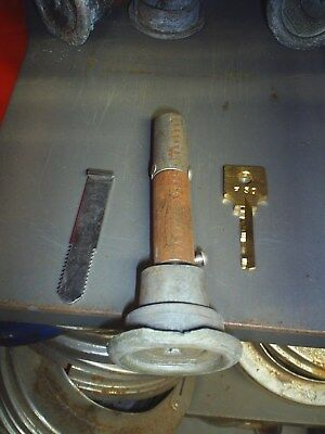 ford gumball bottom lock assy with bar with F50 key for Exter larger size mach.