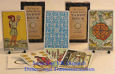 The Original Rider Waite Tarot Deck Cards and guide book/new-sealed/uk seller