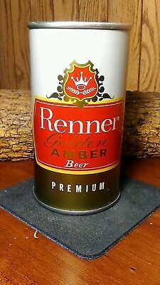 Renner Golden Amber Pull Tab Beer Can