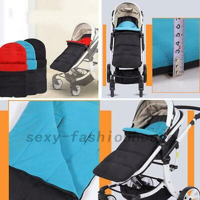 Universal Footmuff Fit Buggy Pushchair Stroller Pram Cosy Toes Cotton Lining Au