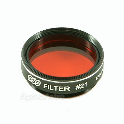 """GSO 1.25"""" Color / Planetary Filter - #21 Orange"""