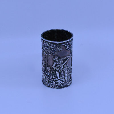 Quality Antique Australian Sterling Silver Napkin Ring, J R Rowland of Melbourne
