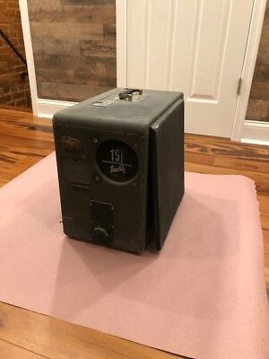 Vintage 16mm suitcase projector, model D
