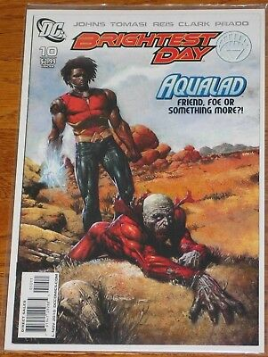 Brightest Day #10 1st Appearance Deathstorm First Printing Aqualad Deadman DC