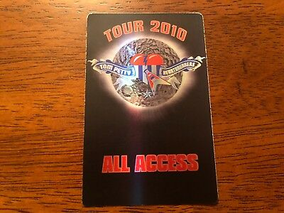 Tom Petty & the Heartbreaks - Tour 2010 - All Access Pass - Black