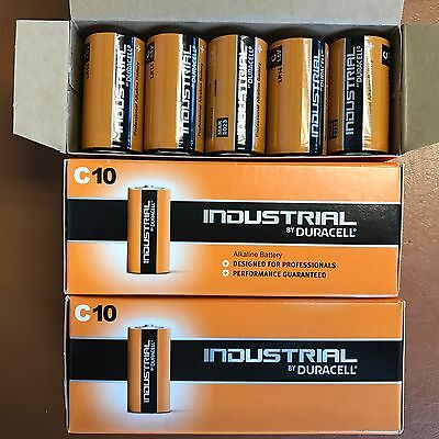 20 X Duracell Taille C Industriel Procell Piles Alcalines LR14 MN1400 B_b_ 2023