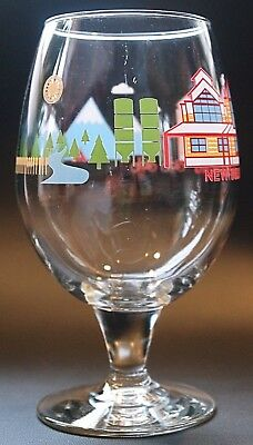 New Belgium Brewing Company Stemmed 2013 Edition Beer Glass Fort Collins CO