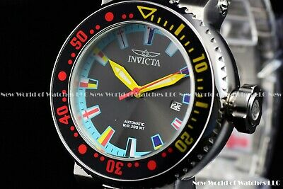 Invicta Men 52mm Pro Diver Automatic Blue Dial FINDING DORY Multicolor SS Watch
